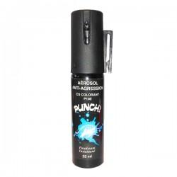 Bombe lacrymogène 25ml COLORANTE PUNCH P100