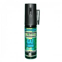 Bombe lacrymogène 25 ml GAZ liquide