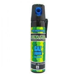 Bombe lacrymogène 75ml GAZ liquide