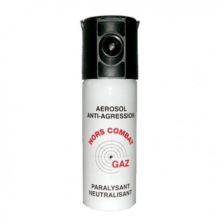 Bombe lacrymogène 50ml GAZ
