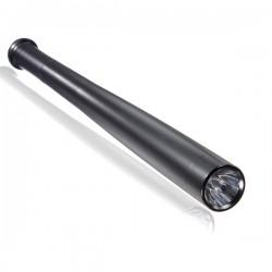 Matraque batte de Baseball 43.8 cm NOIRE en Aluminium avec Lampe