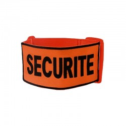 Brassard Brodé SECURITE Orange