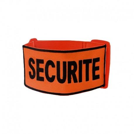 Brassard Brodé SECURITE Orange - à partir de 4.50€