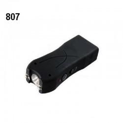 Shocker électrique MODELE COMPACT 807 lampe torche 4 000 000 volts NOIR
