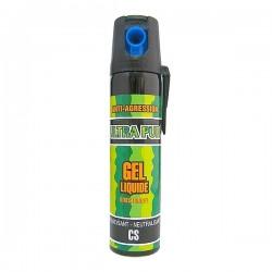 Bombe lacrymogène 75ml GEL liquide