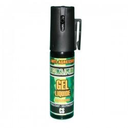 Bombe lacrymogène 25 ml GEL liquide